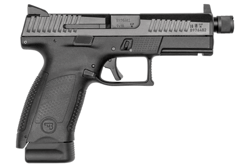 "CZ P-10 C Semi-Auto Pistol, 9mm Luger, 4.6"" Threaded Barrel, Striker Fired"