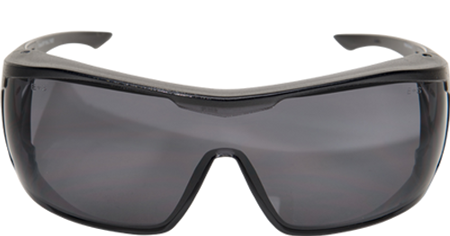 Edge Ossa Over-the-Glasses Safety Glasses - Smoke Lens