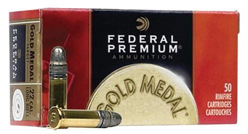 Federal Gold Medal 22LR Target Ammo