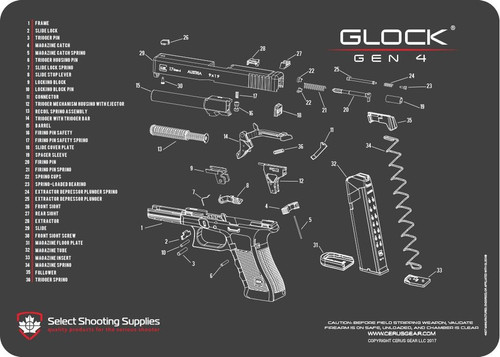 Glock Parts - Factory & Aftermarket