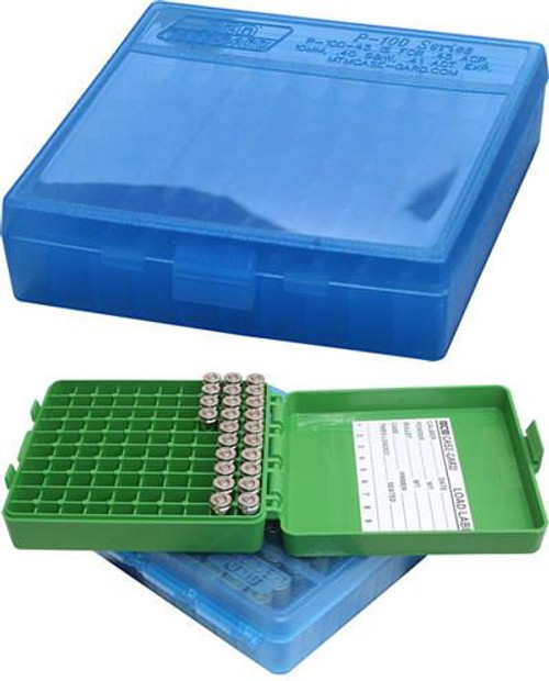 Handgun Ammo Boxes - Case-gard P-100 Series
