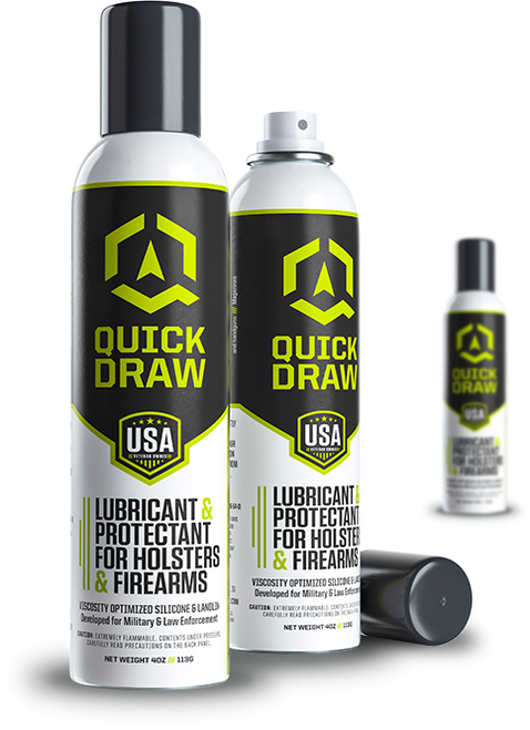 Quick Draw Holster Lubricant & Protectant