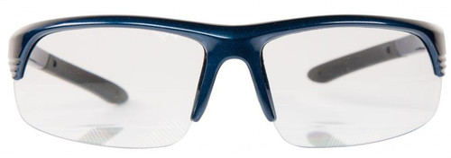S&W® CORPORAL HALF FRAME GLASSES- CLEAR LENS