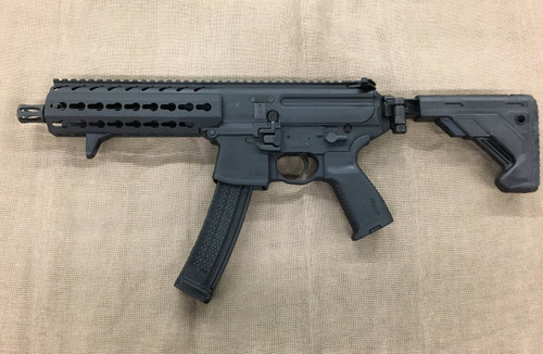 Sig Sauer MPX SBR Gen2 Semi-Auto Pistol Version 9mm 5 Rounds