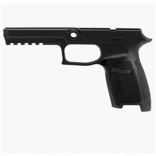 SIG Sauer P320/P250 Full Sized Grip Module 9mm/.40/.357 OEM Frame Grip Polymer Black