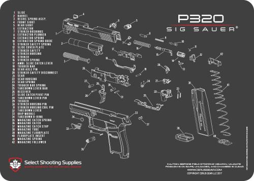 cleaning \u0026 maintenancesig sauer® p320 schematic promat