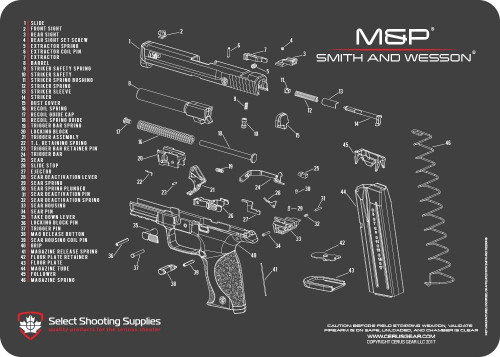33 M U0026p Shield 9mm Parts Diagram