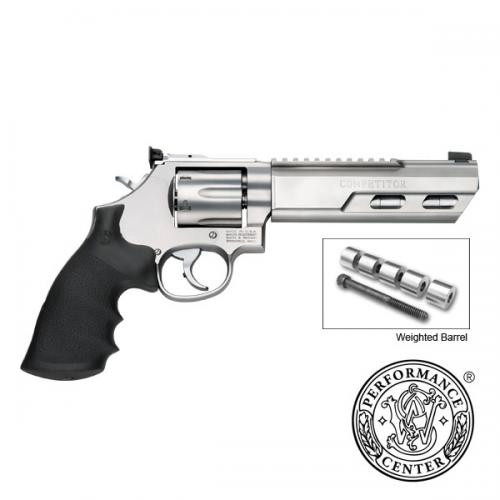 Smith Wesson 686 Competitor Performance Center Revolver 357 MAG 6 Weighted