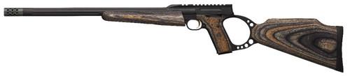 Buck Mark Target Gray Laminate Rifle with Muzzle Brake
