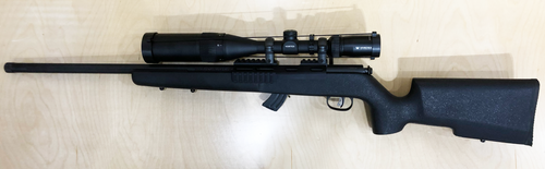 USED Savage Mark II SR w/Vortex Crossfire 6-18 x 44mm