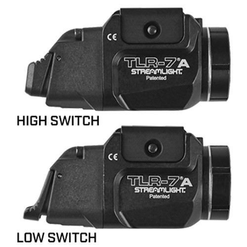 Streamlight - TLR-7®A GUN LIGHT WITH REAR SWITCH OPTIONS