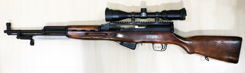 USED Russian SKS w/Bushnell Banner 3-9 x 40 Scope