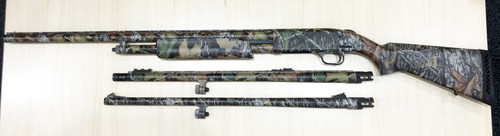 "USED Mossberg 500 3-1 Combo 20ga. 3"" w/Three Barrels"