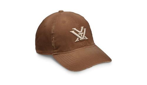 Vortex Men's Distressed Cap - Chestnut