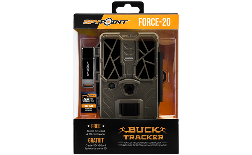 Spypoint - FORCE-20 ULTRA COMPACT TRAIL CAMERA