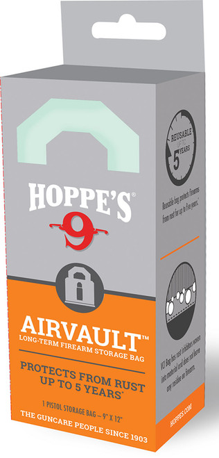 Hoppe's AirVault Long Term Storage Bag - Pistol