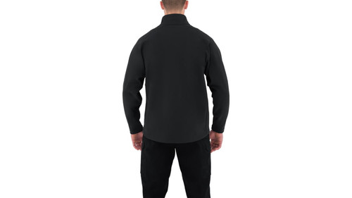 Men's Cotton Job Shirt - 1/4 Zip