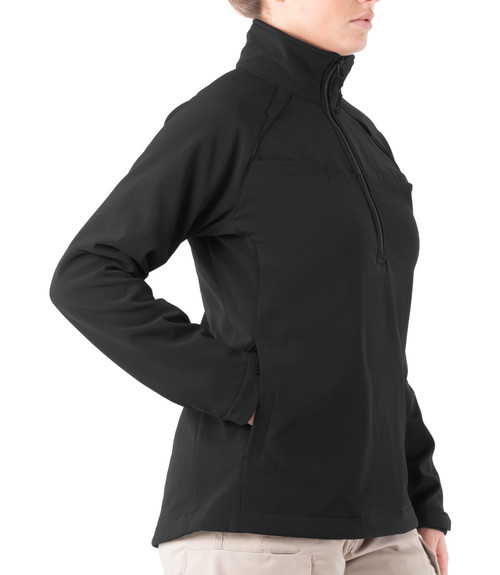 WOMEN'S SOFTSHELL JOB SHIRT - 1/2 Zip