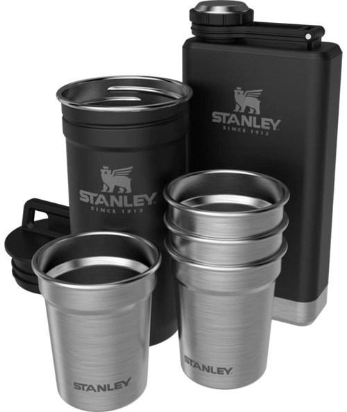 STANLEY - ADVENTURE PRE-PARTY SHOT GLASS + FLASK SET