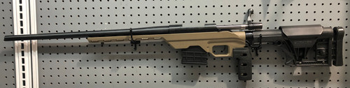 USED Weatherby Vanguard in MDT Chassis .22-250