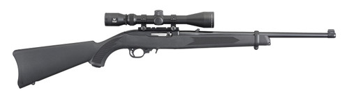 Ruger 10/22 Carbine w/Viridian 3-9x40 Scope and Hard Case