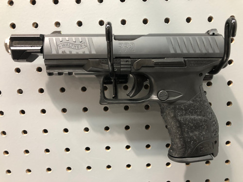USED Walther PPQ M2B Navy SD 9mm w/Four Magazines