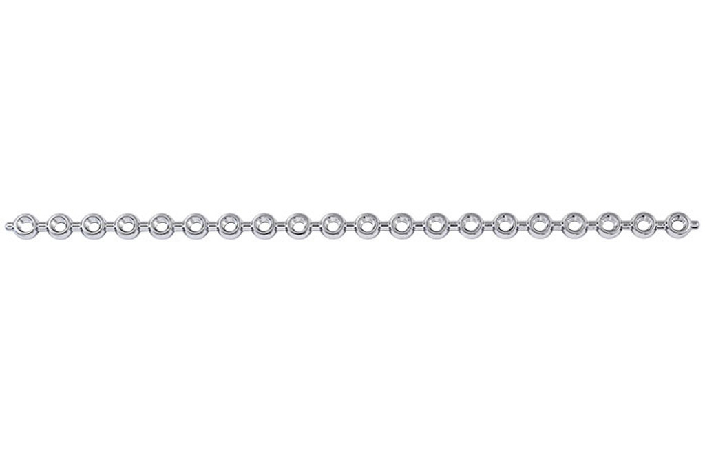 1.5mm Locking Cortical Pearl Plate - 20 hole