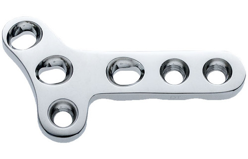 Double Threaded Locking Small Y Plate - Low Contact - Left