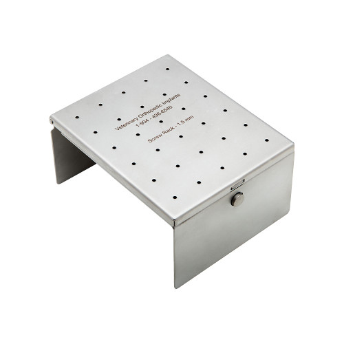 1.5mm Screw Rack, Stainless Steel