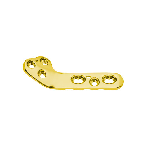 HYPROTECT-2.7mm Broad Elite TPLO Plate, DT Locking, Pre-bent, Low Contact-Right