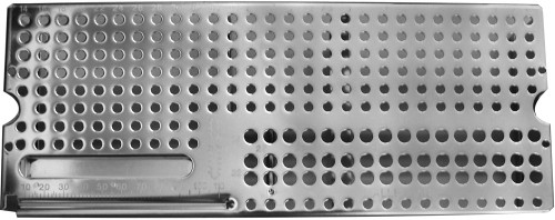Sterilization Tray 290 X 115 X 58mm with 4.5mm and 6.5mm screw tray
