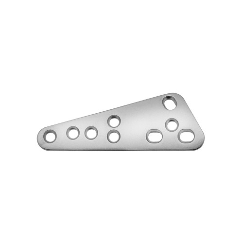 3.5mm Broad T style TPLO Plate - Matte Finish - Right