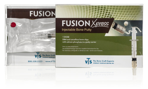 VTS  Fusion Express Bone Putty - 0.5 CC Lot No