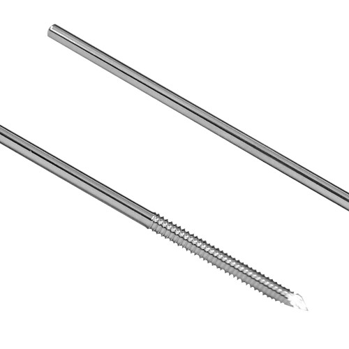 Fixation Half Pin - Positive Cortical Thread 5/64 inch X 95mm