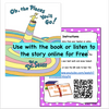 Digital Version- Virtual Read-A-Loud- Oh the Places You'll Go (Designed for Google Drive) Student Activities