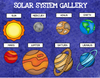 Solar System / Planets Digital Research Template
