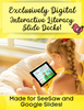 Exclusively Digital-Google Slides Spring Literacy Activities|Distance Learning