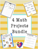 4 Math Projects Bundle (2-5)