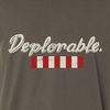 """Deplorable."" Sons of Liberty flag (distressed)"