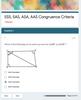 Congruence Criteria Mastery Practice (SSS, SAS, ASA, AAS): Google Form