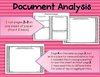 Primary Source Document and Image Analysis