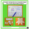 Decomposing Composite Shapes - Includes Distance Learning Option