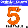 '5 TIMES TABLE' ~ Curriculum Song Video