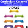 '7 DAYS' (Grades Pre K-3) ~ Curriculum Song Video