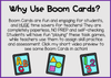 Counting and Cardinality Numbers 6-10 Digital Boom Cards