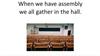 'PLACES AT SCHOOL' (Grades Pre K-3)