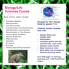 Biology/Life Science Course (Distance Learning)