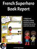 French Superhero Book Report 1