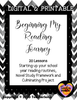 Beginning My Reading Journey Unit-Remote and Face to Face Ready