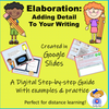 Google Slides Digital Elaboration: How to Add Detail to Writing